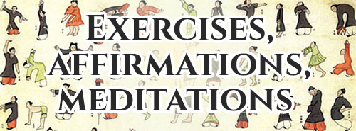 exercises admirations meditation