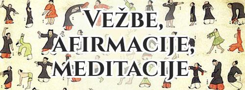 Vežbe, meditacije, afirmacije