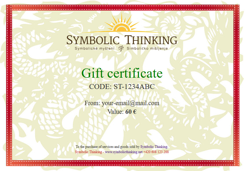 Gift Certificate - Symbolic Thinking